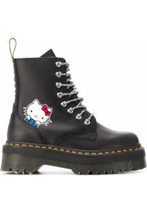 Dr. Martens Bota Hello Kitty - Preto