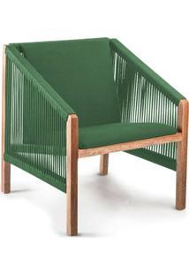 Poltrona De Corda Laã§Ada Verde - Incolor - Dafiti