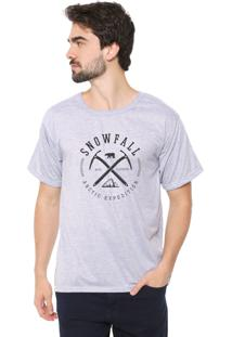 Camiseta Eco Canyon Snowfall Cinza