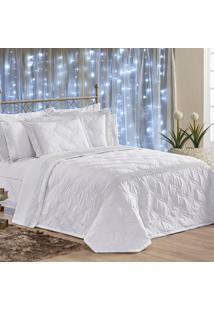 Kit Cobre Leito C/ Travesseiros Royalle Branco King 07 Peã§As - Percal Microfibra - Branco - Dafiti