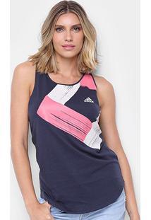 Regata Adidas Diamond Tank Feminina - Feminino