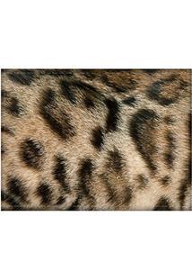 Jogo Americano Decorativo, Criativo E Descolado | Textura Felino - Tamanho 30 X 40 Cm