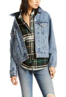 Jaqueta Jeans Levis Trucker Ex-Boyfriend - 20012 - Feminino-Jeans