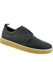Sapato Casual Constantino Masculino - Masculino-Preto
