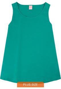 Blusa Verde Feminina Em Malha