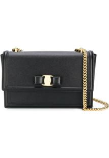 Salvatore Ferragamo Ginny Shoulder Bag - Preto