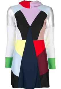 Cynthia Rowley Burkini Prism Color Block - Estampado