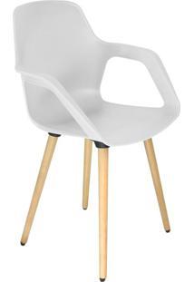 Cadeira De Cozinha Beau Com Braço Branca