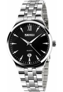 Relógio Skmei Analógico 9071 - Feminino-Preto