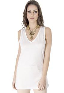 Zattini. Regata Viscose Calvin Klein - Feminino-Off White 5ecf442c40