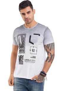 Camiseta Com Estampa Foil Branco Bgo