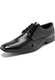 Sapato Social Mariner Cadarço Preto