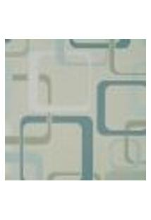Papel De Parede Italiano Imagine 2 34473 Vinílico Com Estampa Contendo Geométrico, Aspecto Têxtil, Retrô