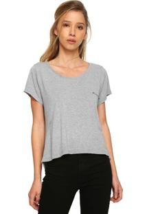 Camiseta Roxy Essential Cinza
