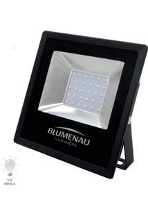 Refletor Led Slim 30W Bivolt Branco Frio 6000K - 74306000 - Blumenau - Blumenau