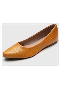 Sapatilha Dafiti Shoes Croco Amarela