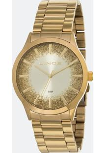 Kit Relógio Feminino Lince Lrg4593L-C1Kx Analógico 5Atm + Conjunto Semijóia