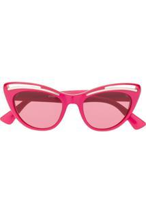 Moschino Eyewear Cat Eye Sunglasses - Rosa
