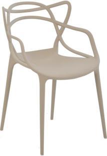 Cadeira Allegra Nude Rivatti