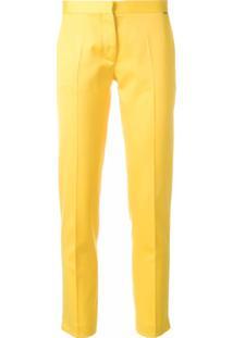 dbec60a8cb Farfetch. Styland Calça Cropped - Amarelo