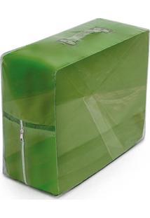 Capa De Sofá Bordados Ricardo Coladinha 02 Peças Verde