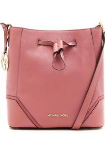 Bolsa Michael Kors Nicole Lg Bucket Rosa