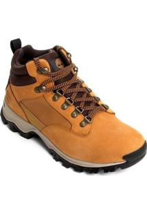 Bota Timberland Keele Ridge Wp Leather Mi Wheat Masculina - Masculino-Mostarda