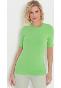 Camiseta Lisa- Verde- Colccicolcci