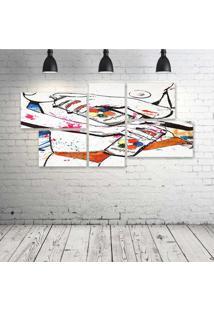 Quadro Decorativo - Sexy-Urban-Art - Composto De 5 Quadros