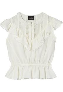 Marc Jacobs Blusa The Victorian - Branco