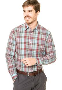 Camisa Perry Ellis Reta Xadrez