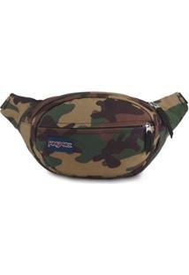 Pochete Shoulder Bag Jansport Fifth Avenue 2,5 Litros - Unissex-Camuflado
