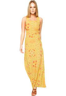 Vestido amarelo enfim feminino shoelover vestido longo enfim mix amarelo thecheapjerseys Choice Image