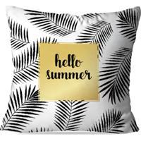 1cfb5c1a5 Capa De Almofada Love Decor Hello Summer Multicolorida