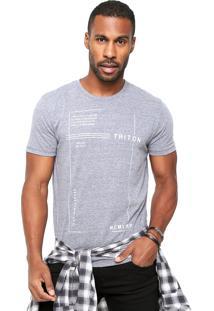 Camiseta Triton New Cinza
