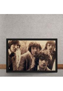 Quadro Decorativo Pink Floyd Fotografia Antiga 25X35