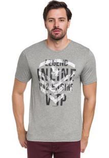 Camiseta Mescla Hangar