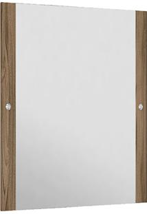 Espelheira Em Mdf Madri 85X55Cm Terracota