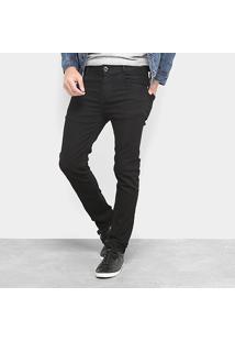 Calça Jeans Terminal Gold Black Masculina - Masculino-Preto