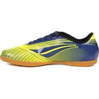 Tênis Futsal Penalty Storm Speed Indoor Amarelo Azul 4e82a23ba231f
