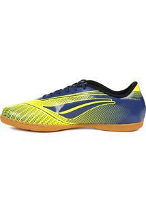 Tênis Futsal Penalty Storm Speed Indoor Amarelo/Azul