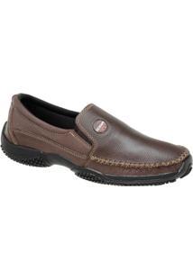 Mocassim Tchwm Shoes Solado Em Borracha - Masculino