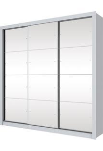 Guarda Roupa Trentino 3 Portas Branco
