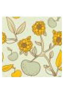 Papel De Parede Autocolante Rolo 0,58 X 3M - Floral 1253