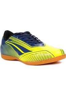 Tênis Futsal Masculino Penalty Storm Speed Indoor Amarelo/Azul