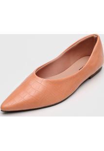 Sapatilha Dafiti Shoes Croco Coral