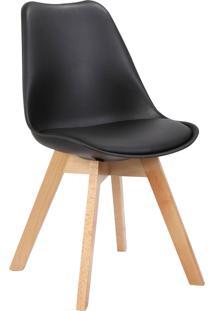 Cadeira Leda Preta Rivatti Móveis