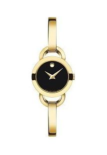 Relógio Movado Feminino Aço Dourado - 0606888