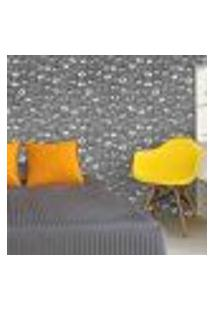 Papel De Parede Autocolante Rolo 0,58 X 5M - Caveiras 282670856