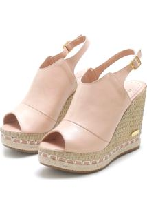 Sandã¡Lia Sb Shoes Ancoboot Anabela Ref.3400 - Feminino - Couro - Dafiti